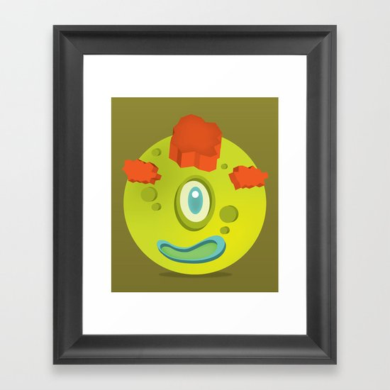 LOL WUT? Framed Art Print