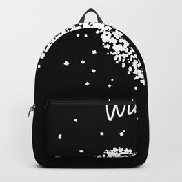 Winter Mountains Snow Ice Skiing Backpack