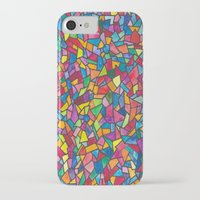 mosaic iPhone & iPod Cases featuring Mosaic by Juliana Kroscen