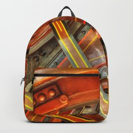 Steam Traction Engine Wheel Backpack