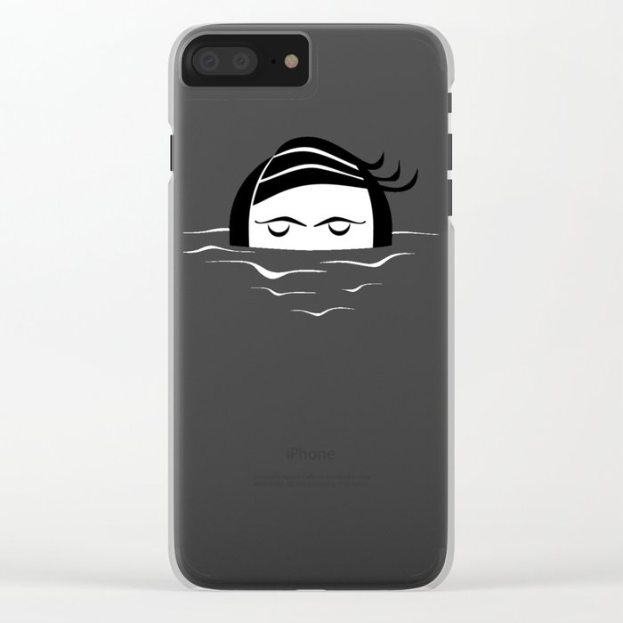 relax Clear iPhone Case