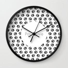 Pawsitive Wall Clock
