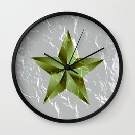 You must be my lucky star Wall Clock