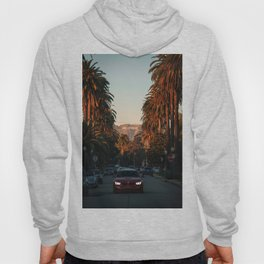 HOLLYWOOD Life, Sunset and Palm Trees Hoody