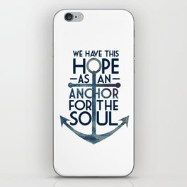 WE HAVE THIS HOPE. iPhone Skin