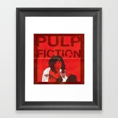 True Fiction Framed Art Print
