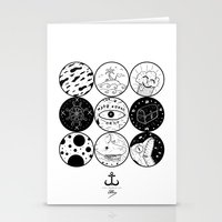 circles Stationery Cards featuring Circles by LSjoberg