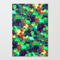 science Canvas Prints featuring Science by KRArtwork
