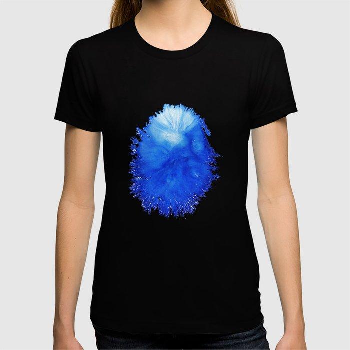 blue paints T-shirt