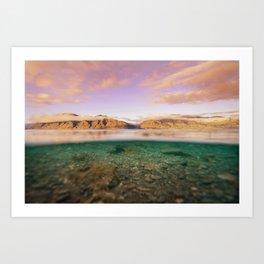 Lake Hawea Art Print