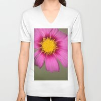 cosmos V-neck T-shirts featuring Cosmos by Stecker Photographie