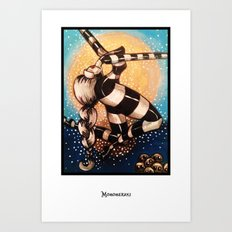 Moon Dance 02 Art Print
