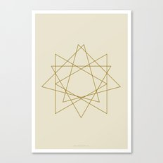 Geometric No.1 Canvas Print