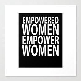 women empower Canvas Print