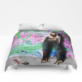 ... street art Comforters
