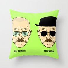 Walter White or Heisenberg? Throw Pillow