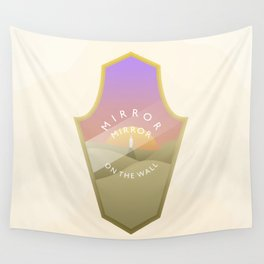 Mirror, mirror, where are you? Second destination Wall Tapestry
