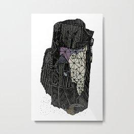 Wolframite Metal Print