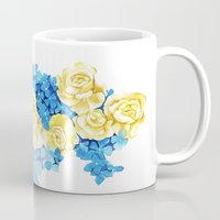 ukraine Mugs featuring Ukraine by Goga Alexandra