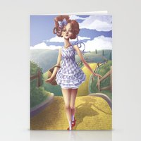 dorothy Stationery Cards featuring Dorothy by FReMO