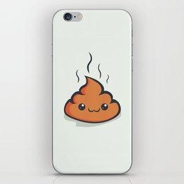 Happy crap! iPhone Skin