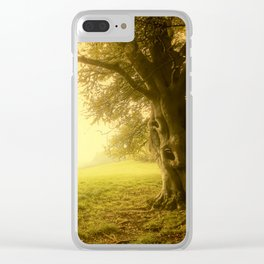 The Wizard Tree Clear iPhone Case
