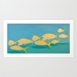 Souffleur Fly! Art Print