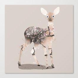 fawn - neutral Canvas Print