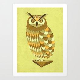 Mowly Art Print