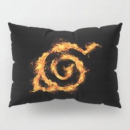 Konoha on Fire Pillow Sham