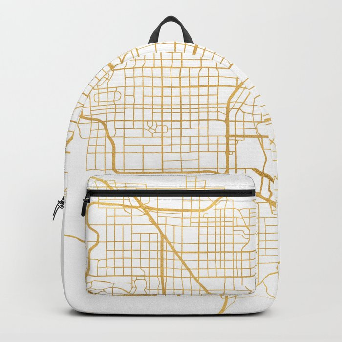 LAS VEGAS NEVADA CITY STREET MAP ART Backpack