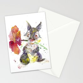 Thumper With Flower Stationery Cards
