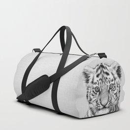 Baby Tiger - Black & White Duffle Bag
