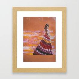 the oranges Framed Art Print