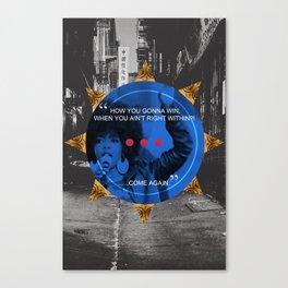 Lauryn Hill tribute  Canvas Print