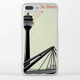 dusseldorf 3 Clear iPhone Case