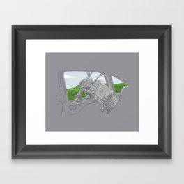Cruisin' Walker Framed Art Print