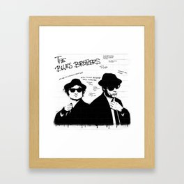 The Blues Brothers Framed Art Print