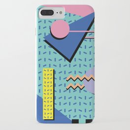 Memphis Pattern 14 - 80s Retro iPhone Case