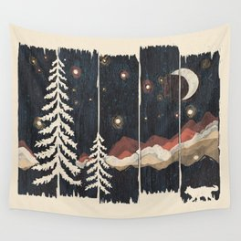 A Starry Night in the Mountains... Wall Tapestry