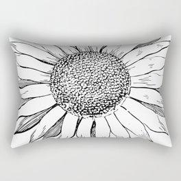 The Sunflower Rectangular Pillow