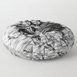 The Myth of Totummy Floor Pillow