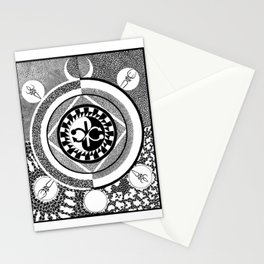 Infinity of Two Stationery Cards
