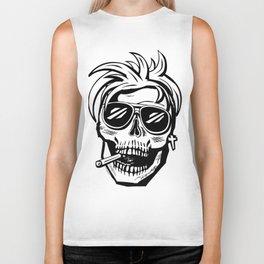 Skull Head - Cool Biker Tank