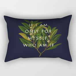 The Theory of Self-Actualization II Rectangular Pillow