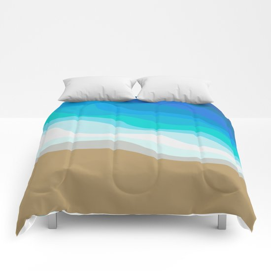 Gold Sand Comforters