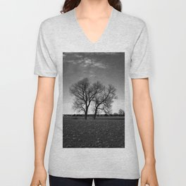 Concept nature : Two tree´s Unisex V-Neck