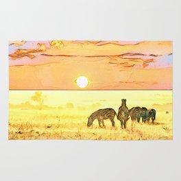 African Savannah Rug