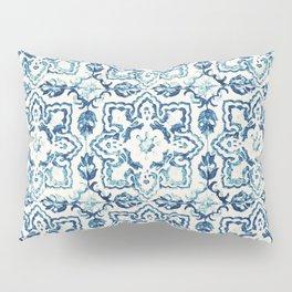 Azulejo IV - Portuguese hand painted tiles Pillow Sham
