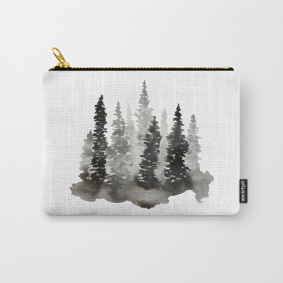 Fading Forest Carry-All Pouch